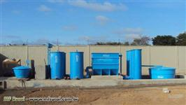 Estações para tratamento de água e esgoto