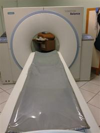 Equipamento de tomografia marca Siemens modelo Balance helicoidal single