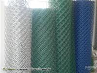 Alambrados galvanizados,  tubos galvanizados, telas em geral