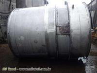 Tanque misturador de aço inox  304 L