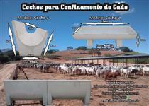COCHOS PARA GADO, CONFINAMENTO e BEBEDOUROS