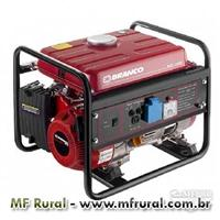 Motogerador 1.3 KVA Branco gasolina com partida manual