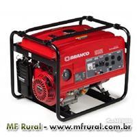 Gerador - 4,5 KVA - Branco - Gasolina - Partida manual