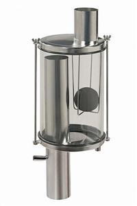 Vaso de Higienização 10l - Saída inferior - tubo 76,2