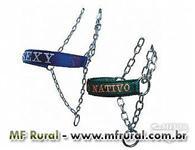 Cabresto Personalizado em Nylon para Ovinos e Caprinos com cabo