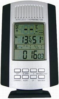 Termômetro Digital Externo/Interno Multifuncional, sem fio