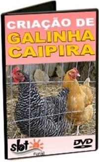 Criação de Galinha Caipira - DVD