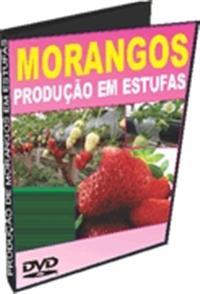 Produção de Morangos em Estufa - DVD