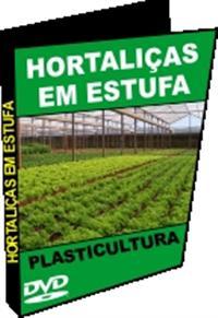 Hortaliças em Estufa - DVD