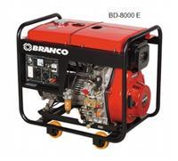 Gerador BD-8000 Branco diesel partida elétrica 110V/220V monofásico