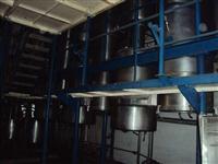 Torre de secagem de leite