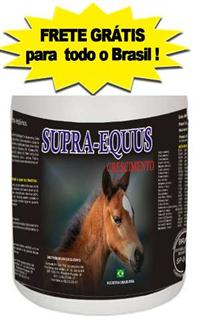 Supra-Equus Crescimento - Promotor de Crescimento para Equinos