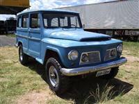 Rural Willys 4x4 1967 muito conservada, manual e NF de compra