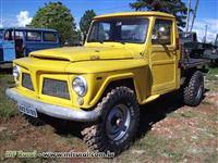 Picape Ford Willys F75 1975 4x4 reduzida