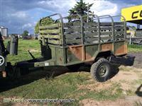 Reboque carretinha militar 3/4 ton