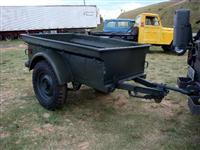 Reboque carretinha militar para jeep VRNE M100 1/4 ton