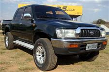 Toyota Hilux CD SRV 3.0 turbo diesel completa ano 2002 verde metálica