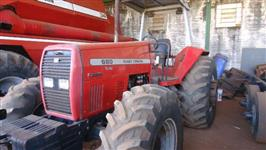 Trator Massey Ferguson 680 Advanced 4x4 ano 03