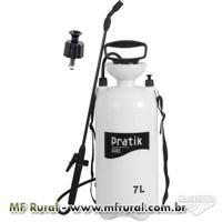 Pulverizador Spray 7,0 Litros Inseticida Carrapaticidas Inseticidas Pratik