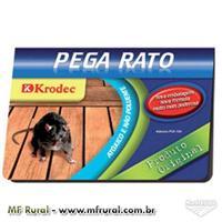 Raticida Adesiva Ratoeira Pega Rato Pc 5 Und Frete Grátis