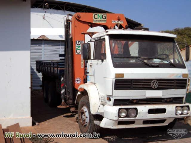 Caminhão  Volkswagen (VW) 14220 93,Munck CNG   ano 08