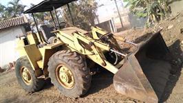 Maquina Pá Carregadeira Case W 7 areia e pedra