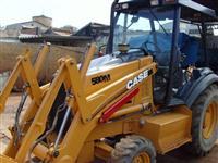 RETRO  ESCAVADEIRA CASE 580 M 2008 4 X 2 4.850 HORAS NOVISSIMA