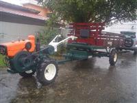Mini/Micro Trator TOBATTA MODELO M140 DIESEL  C/CARRETA TRACIONADA  NOVA 4x4 ano