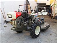 Mini/Micro Trator TC12 DIESEL  DE 12CV  C/APARADOR DE GRAMA  4x2 ano 2002