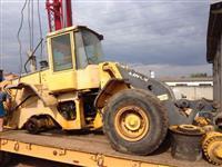 Pá Carregadeira Volvo L110E L120F L90F Peças para tratores volvo - Motores - eix
