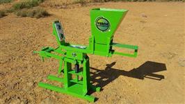 Máquina de tijolo ecológico 12,5x25
