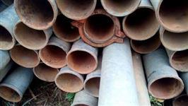 cano para irrigação de ferro galvanizado  polegadas usado