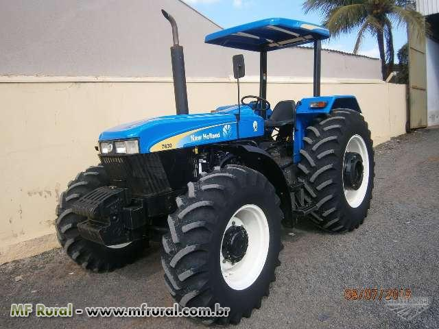 Trator Ford/New Holland 7630 4x4 ano 11 (Cód. 123454)