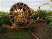 Carretel irrigador