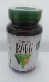 Cápsulas de óleo de baru 500 mg, 60 un