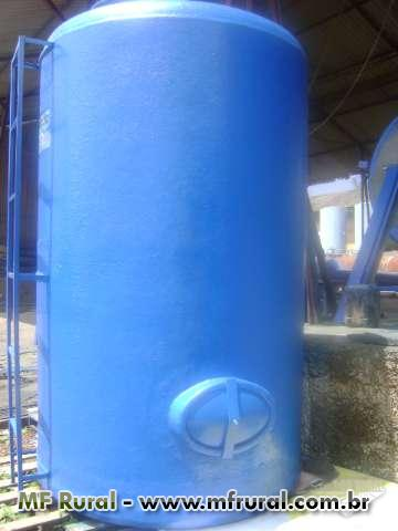 Caixas dagua em fibra de vidro 6.000L, 10.000L, 15,000L, 20.000L , 30.000L