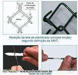 TELA EM PVC- Telas de alambrado em arame revestido em PVC VERDE,AZUL,VERMELHO