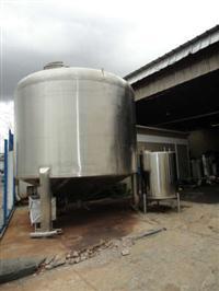 Tanque Inox 40m3 c/mexedor 3 pés