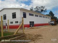 PAVILHÕES DE CONCRETO E METAL VÃOS DE 09,00 A 20,00 M