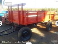 Carreta agrícola 4 toneladas de 2 eixos reformada