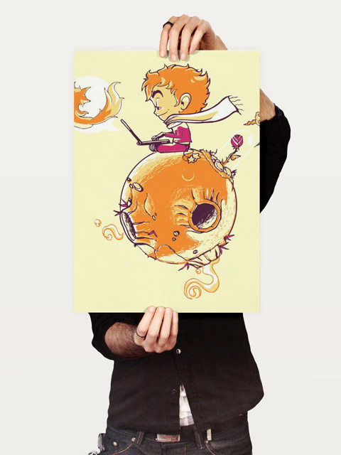 Poster O Pequeno Principe e a Raposa