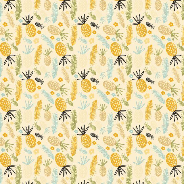 Poster Padrão de abacaxi