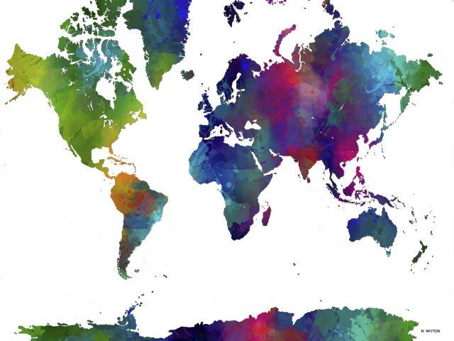 Poster Mundo