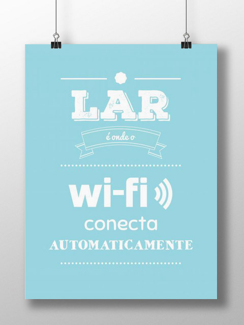 Poster Wi-fi