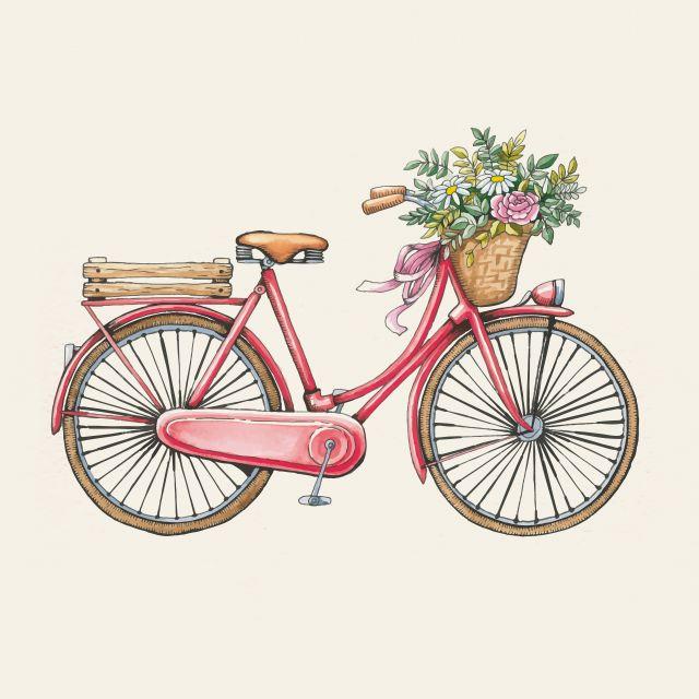 Poster Bicicleta Vintage