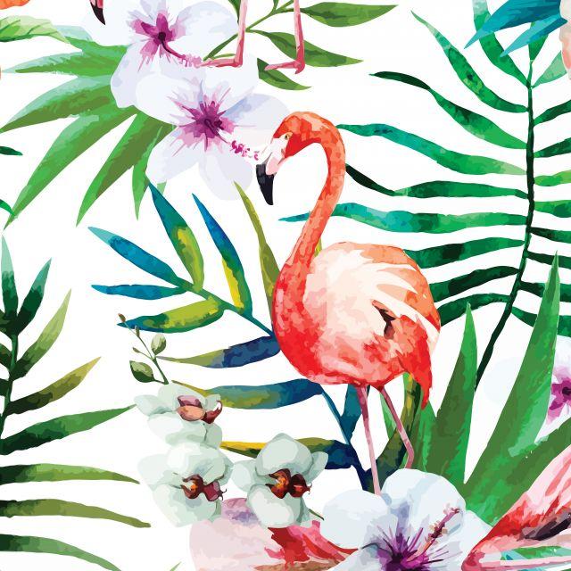 Poster Tropical Flamingo Soupop