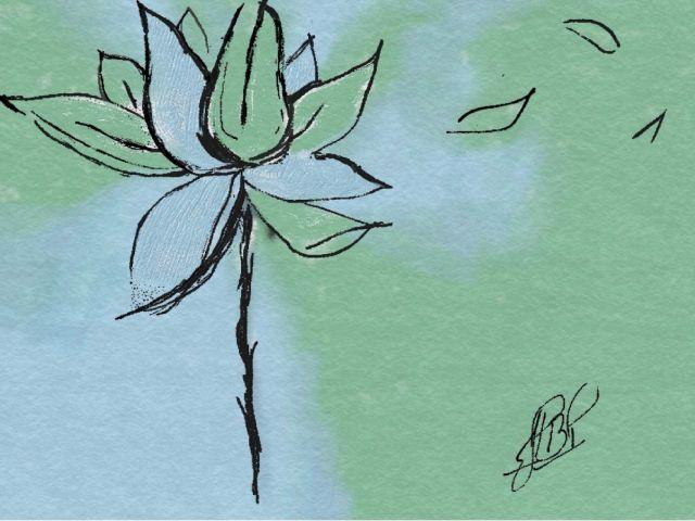 Poster FeRod inspiration flower
