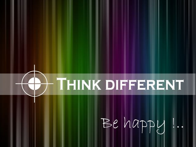Poster Think different