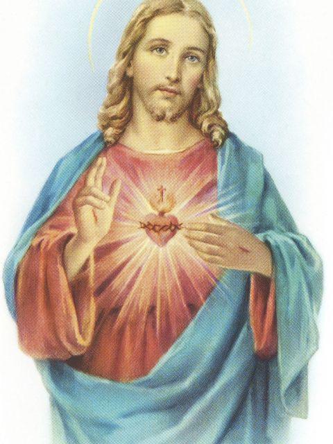 Poster Sagrado Coração de Jesus