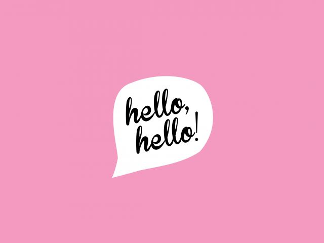 Poster Hello Hello   Nah rosa